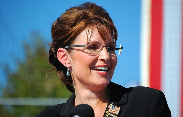 Palin shapes two races