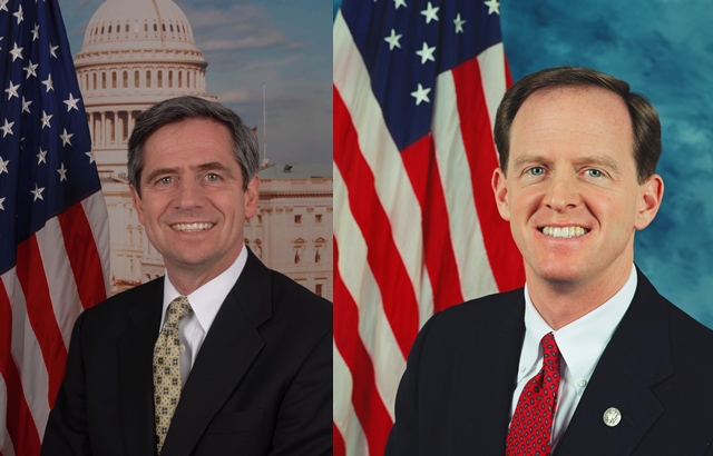 Rasmussen updates on Sestak/Toomey