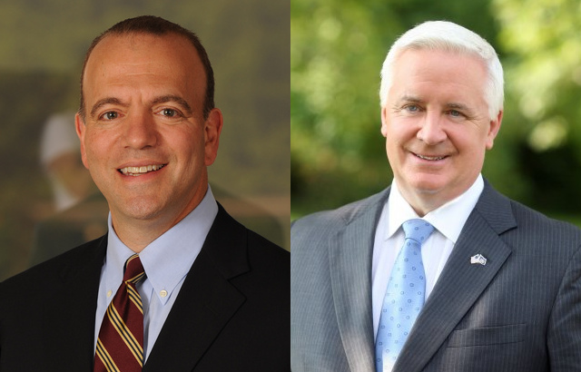 Corbett steady as Toomey and Sestak joust
