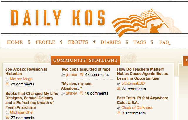 Daily Kos and Research 2000 settle
