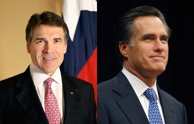 Perry shows strength, but Romney's front running in doubt?