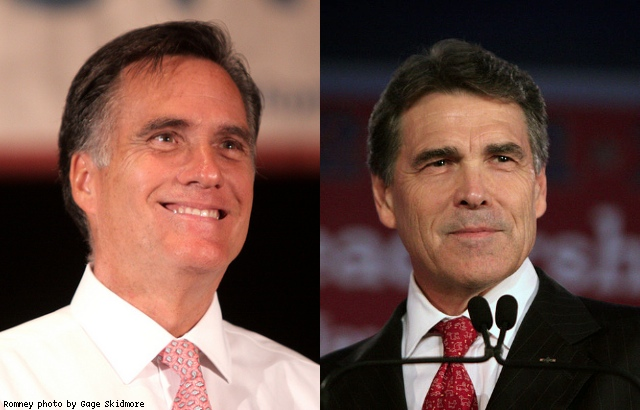 Quinnipiac in OH and PA: Romney leads, Perry leads, Santorum flops