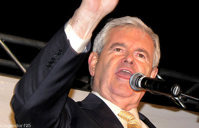 An island of stability in the polling for Newt Gingrich